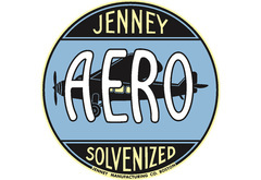 Jenny Aero Vintage Sign by SignPast