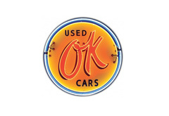 OK Used Cars Neon Sign by SignPast