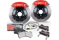 Volkswagen Eos StopTech Slotted Big Brake Kit