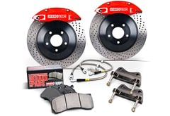Mercedes-Benz S420 StopTech Drilled Big Brake Kit