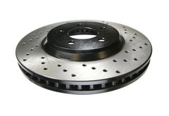 Toyota Echo StopTech SportStop Drilled Brake Rotor