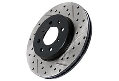 Toyota Echo StopTech SportStop Drilled & Slotted Brake Rotor