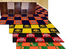 Fanmats NCAA Carpet Floor Tiles