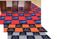 Fanmats NFL Carpet Floor Tiles