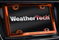BMW 545i WeatherTech ClearFrame License Plate Frame