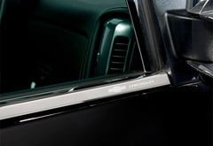 GMC Sierra Putco Stainless Steel Window Trim
