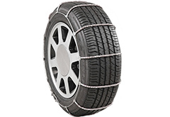 Tesla Model S Pewag Glacier Cable Tire Chains