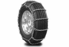 Tesla Model S Pewag Glacier Square Link Tire Chains