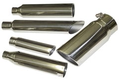 Mitsubishi Raider Heartthrob Round Exhaust Tip