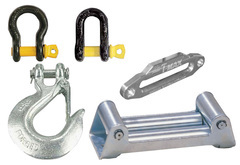Jeep Wrangler T-Max Winch Fairleads & Shackles