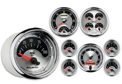 Mercedes-Benz E320 AutoMeter American Muscle Series Gauges