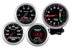 Toyota Corolla AutoMeter Elite Series Gauges