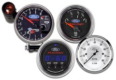 Jeep CJ6 AutoMeter Ford Racing Series Gauges