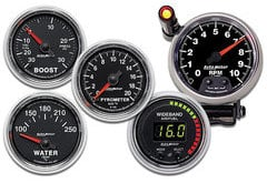 Porsche Boxster AutoMeter GS Series Gauges