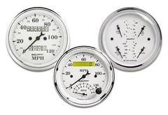 Honda S2000 AutoMeter Street Rod Old Tyme White Series Gauges
