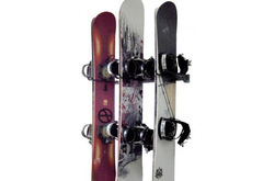 Monkey Bars Snowboard Rack