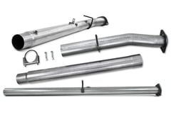 Ford F-450 MBRP Competition Exhaust Pipes