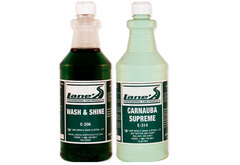 Lane's Car Wash Soap & Carnauba Wax Kit