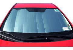 Hyundai Tiburon Dash Designs Silver Shield Sun Shade