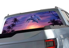 Chevrolet Silverado Window Canvas Designer Window Graphic