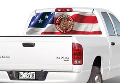Chevrolet Silverado Window Canvas Military Window Graphic