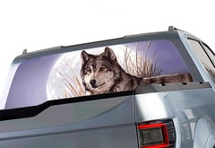 Chevrolet Silverado Window Canvas Wildlife Window Graphic