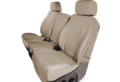 Isuzu Saddleman Canvas Seat Covers