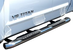 Chevrolet Silverado Steelcraft Premium Oval Nerf Bars