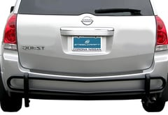 Hummer H3 Steelcraft Rear Bumper Guard