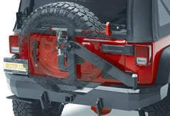 Bestop HighRock Tire Carrier Rear Bumper