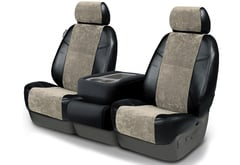 Infiniti FX35 Coverking Alcantara Seat Covers