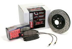 Toyota MR2 StopTech Brake Kit with Drilled & Slotted Rotors
