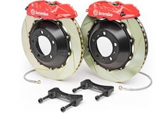 BMW 745Li Brembo Gran Turismo Slotted Brake Kit