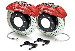 Hyundai Genesis Brembo Gran Turismo Drilled Brake Kit