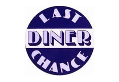 Last Chance Diner Vintage Sign by SignPast