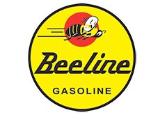 Bee Line Gasoline Vintage Sign by Signpast