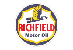 Richfield Motor Oil Vintage Sign by SignPast