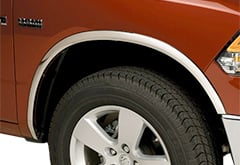 Dodge Putco Stainless Steel Fender Trim