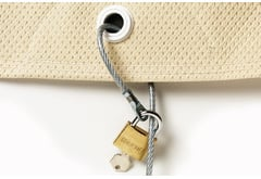 Checker Covercraft Lock and Cable
