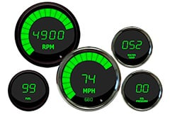 Lincoln Continental Intellitronix LED Digital Gauges