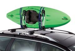 BMW 318ti Thule Stacker Kayak Carrier
