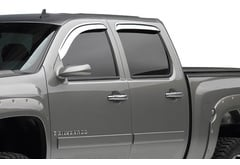 Chevrolet Avalanche EGR Chrome Window Deflectors