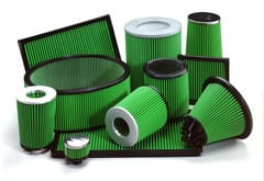 Dodge Ram 3500 Green Air Filter