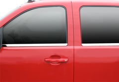 Ford F350 Putco Chrome Window Trim Accents