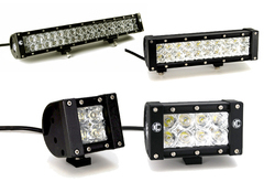 Jeep Liberty KC HiLites Bone Series LED Light Bar
