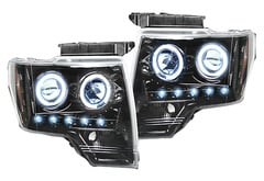 Ford F450 Recon Projector Headlights