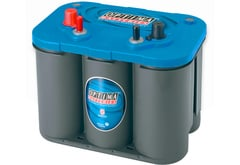 Chevrolet Corvette Optima Blue Top Battery