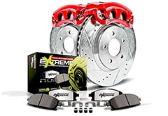 Cadillac DeVille Power Stop Street Warrior Brake Kit