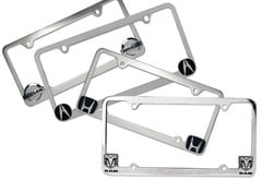 Mitsubishi Raider Pilot Automotive Logo License Plate Frame