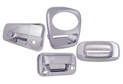 Mitsubishi Raider Pilot Chrome Tailgate Handle Cover